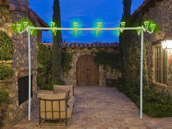 LAMPASOL - portique - Lampadaire De Jardin