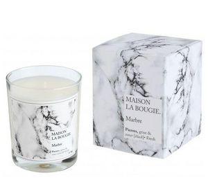 MAISON LA BOUGIE - marbre - Bougie Parfumée
