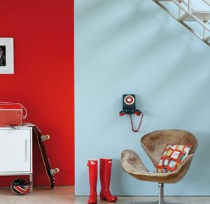 Little Greene - atomic red - Peinture Murale