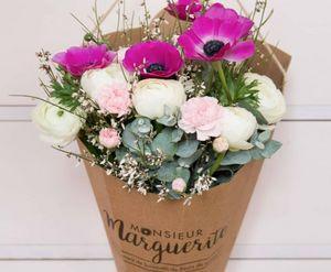 MONSIEUR MARGUERITE - monsieur wishes - Composition Florale
