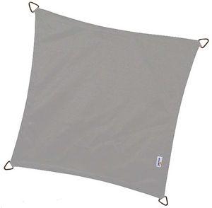 jardindeco - voile d'ombrage imperméable carrée dreamsail gris - Voile D'ombrage
