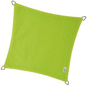 jardindeco - voile d'ombrage carrée coolfit vert lime - Voile D'ombrage