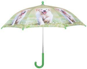 Esschert Design - parapluie chiot en métal et bois labrador - Parapluie