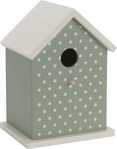 Amadeus - nichoir déco à pois pour oiseaux - Maison D'oiseau