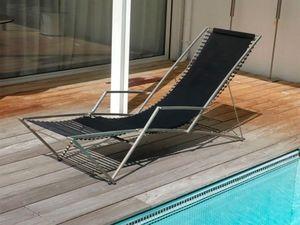 MATHIAS CLAERHOUT -  - Chaise Longue De Jardin