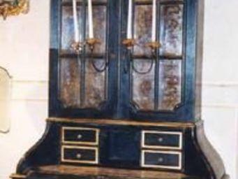 Terra Di Siena - bureau trumeau hollandais - Bureau Cabinet