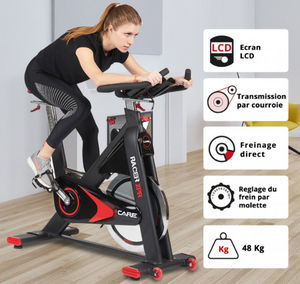 CARE FITNEss - racer xpr - Vélo D'appartement