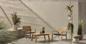 MADE -  - Table Basse De Jardin