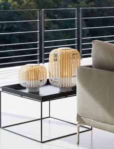 Forestier - bamboo - Lampe À Poser