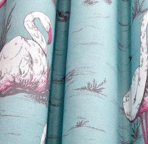 Cole & Son - flamingos linen union - Tissu D'ameublement