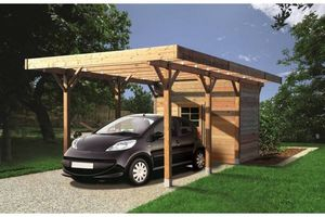Solid Floor -  - Abri De Voiture Carport