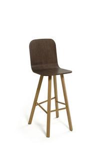 COLE - tria stool high back - Chaise Haute De Bar