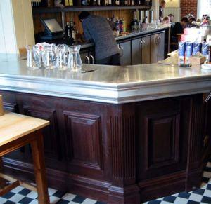 Zinc Counters - loch fyne - Comptoir De Bar
