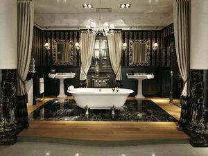 Delepine Jcd Creations - robinetterie frivole, baignoire clara - Salle De Bains