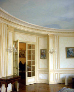 Atelier Bonnamour -  - Plafond Peint