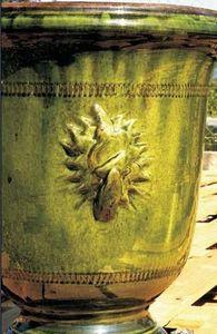 POTERIE TERRE FIGUIERE -  - Vase D'anduze