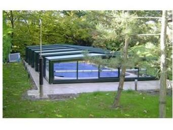 Snsas Swim All Seasons -  - Abri De Piscine Bas Coulissant Ou Télescopique