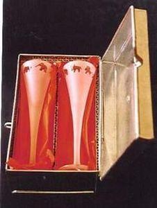 Ixes - flûte liqueur - Coffret À Verres