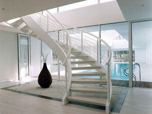 Crescent Of Cambridge -  - Escalier À Limon Central
