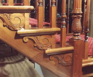 Malcolm E. White & Son -  - Habillage D'escalier