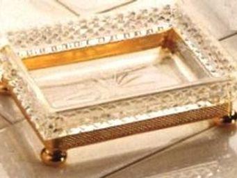 Cristal Et Bronze - cristal d - Porte Savon À Poser