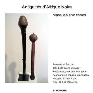 Galerie Toguna -  - Masse D'arme Et Etoile Du Matin