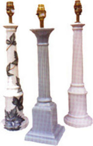 Tingewick Pottery -  - Pied De Lampe
