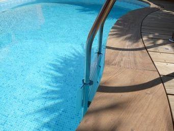 TEKABOIS - margelle bois pour piscine - Margelle De Piscine