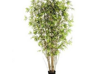 Deco Factory - bambou artificiel oriental en pot - Arbre Artificiel