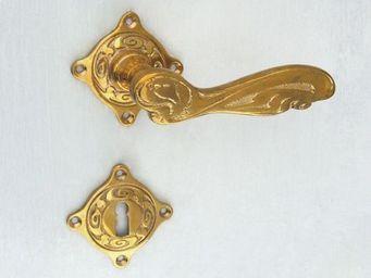 Replicata - jugendstil floral - Plaque De Poignée De Porte
