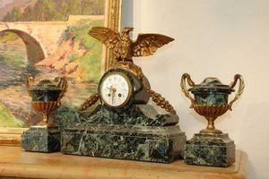Antiquites Decoration Maurin -  - Parure De Cheminée
