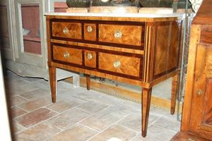 Antiquites Decoration Maurin -  - Commode Sauteuse
