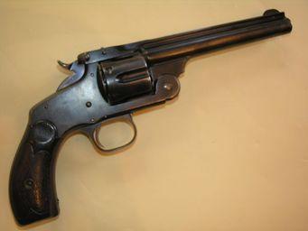 Aux Armes d'Antan - revolver smith & wesson new model n° 3 - Pistolet Et Révolver