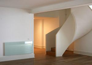 SOLARIS LE BIEN �TRE DIFF�RENT-FONDIS - solaris� salon blanc reflet vert - Panneau Rayonnant