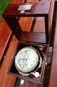 La Timonerie Antiquités marine - chronomètre de marine de thomas mercer - Chronomètre