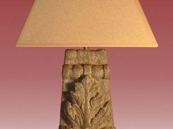 A L'INUTILE... - colonne acanthe pm - Lampe De Chevet