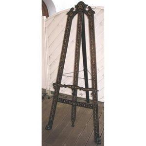 Antiquités d'YTHURBIDE - chevalet en palissandre incrusté d'ivoire - Chevalet