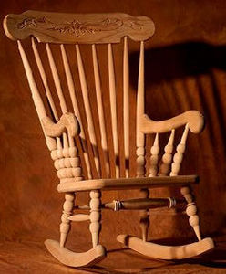 ARKET WOOD FURNITURE   -  - Rocking Chair