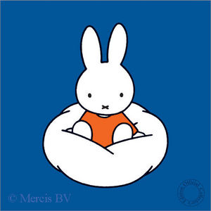Ingo Fincke Gallery - miffy on a cloud - Poster