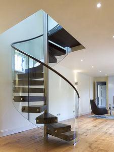 Tin Tab - spiral staircase - Escalier Hélicoïdal