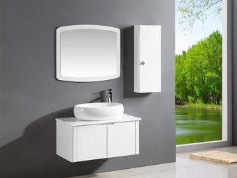 UsiRama.com - cercle ( rangement 800mm + armoire 250mm ) - Meuble Vasque