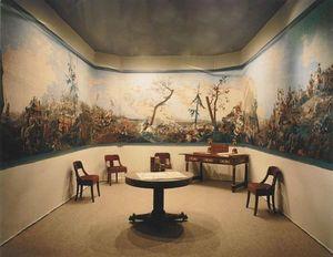 Carolle Thibaut-Pomerantz - la bataille d'austerlitz - Papier Peint Panoramique