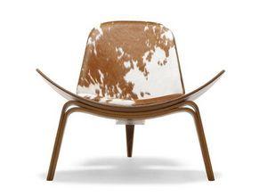 DESIGN IKONIK - fauteuil shell chair ch 07 - Fauteuil