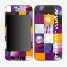 JOHANNA L COLLAGES - skins iphone - Coque De T�l�phone Portable