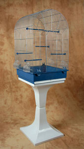 ZOLUX - cage emilie argent avec pied 43x43x139cm - Cage � Oiseaux