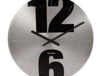 Karlsson Clocks - karlsson - horloge mega disc 12/6 ø? 42cm - karlss - Horloge Murale