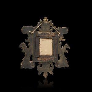 Expertissim - miroir italien en bois dor� - Miroir