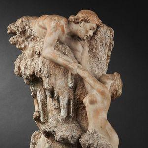 Expertissim - e. gregoire. francesca et paolo, les amants maudit - Vase Décoratif