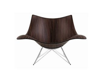 Fredericia - stingray makassar - Rocking Chair