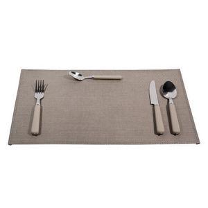 Maisons du monde - sets de table acier gris - Set De Table